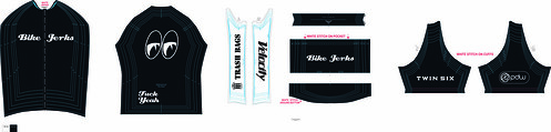 Bike Jerks Jersey White