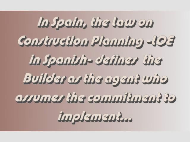 Builders in Spain