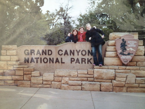 Ann, Diane and Erin Peacock at Grand Canyon