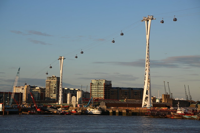 Emirates Air Line - Thames Cable Car