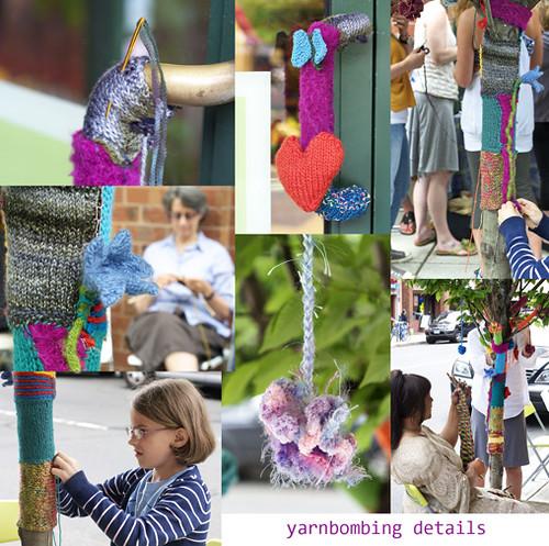 yarnbombing details