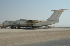 TL-ACN Ilyushin IL-76 ex Centrafrican Airlines