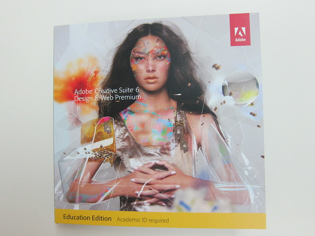 Adobe Creative Suite 6 Design and Web Premium (Student Edition) - DVD Holder