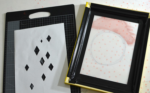 paper stencil screen printing tutorial