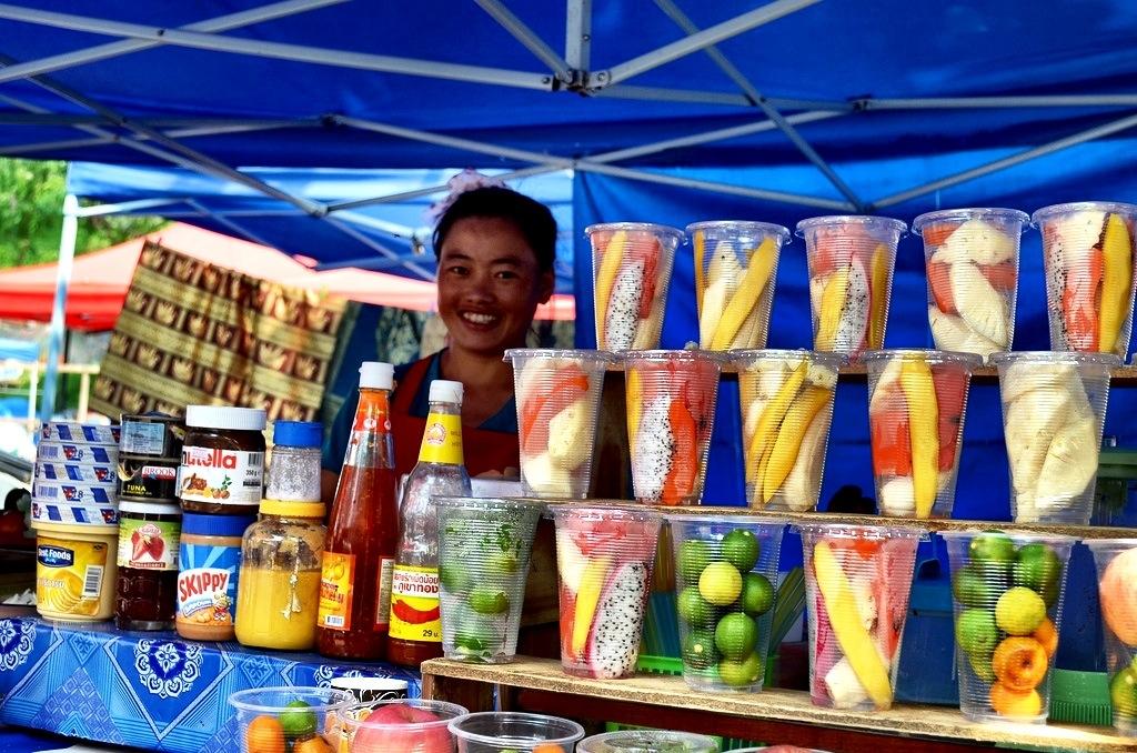 Shake vendor in Luang Prabang