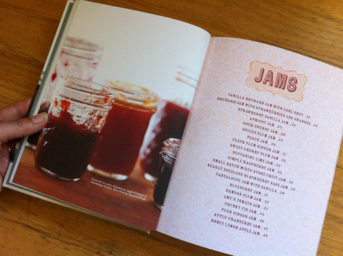 Jams - Food in Jars cookbook