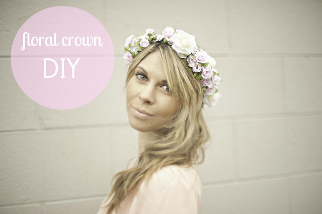 floral crown diy