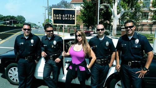 EIF REVLON WALK ROBIN ARCURI & LAPD