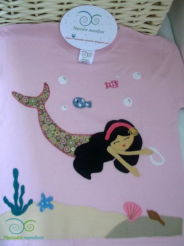 Camiseta personalizada Sirena Jimena