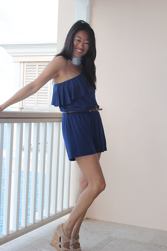 Meringue Clothing: Tart Collections navy romper $128 retail w/ code SHOPMER get 25% off