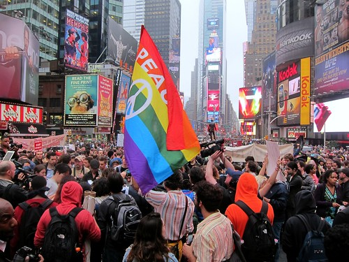 Occupy Wall Street: May 15, Another City Is Possible, Times Square