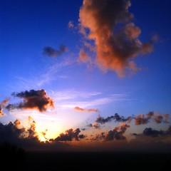 [フリー画像素材] 自然風景, 空, 雲, 朝焼け・夕焼け, 風景 - イタリア ID:201205191200