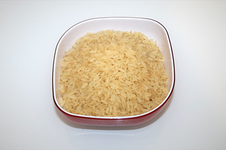 01 - Zutat Reis / Ingredient rice