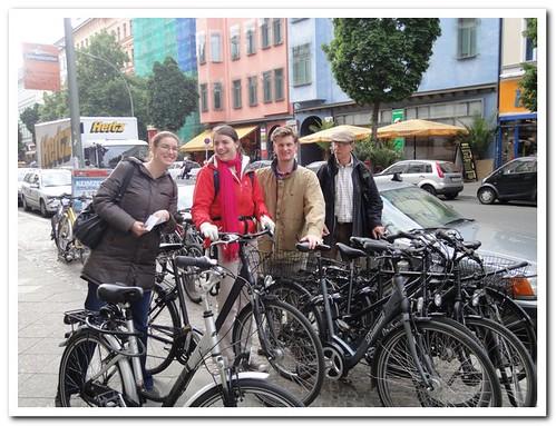 Berlin on bikes!