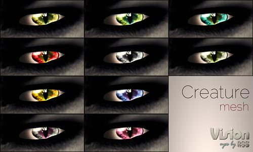 Vision by A:S:S - Creature (mesh eyes)