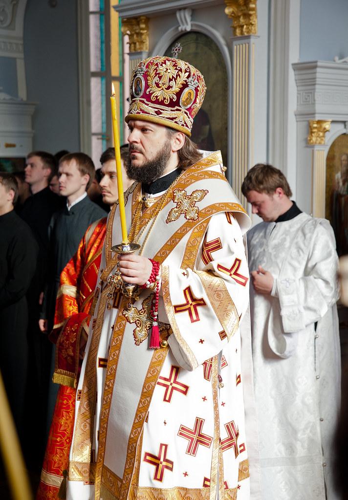 епископ Гатчинский Амвросий, ректор СПбПДА