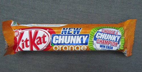 Kit Kat Chunky Orange (UK)