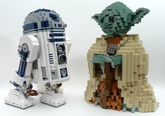 10225 R2-D2 and 7194 Yoda