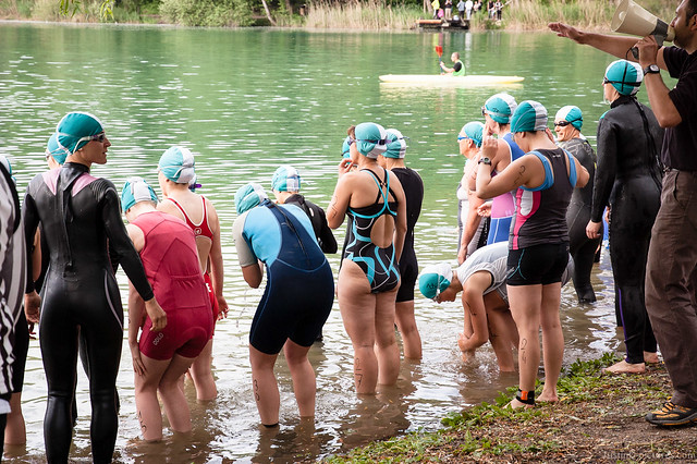 Triathlon de Rumilly, France, 2012