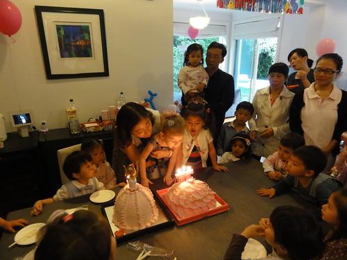 Elaine's 3rd birthday party