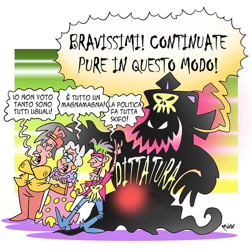 I Brutti Rischi della Demo-Pigrizia by Moise-Creativo Galattico