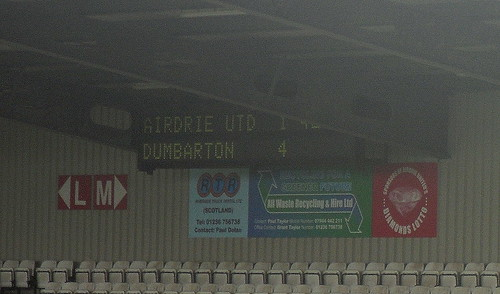 Airdrie United 1-4 Dumbarton