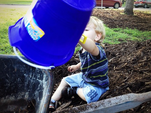 Toddler Tuesday Some Mulch Thinkliz