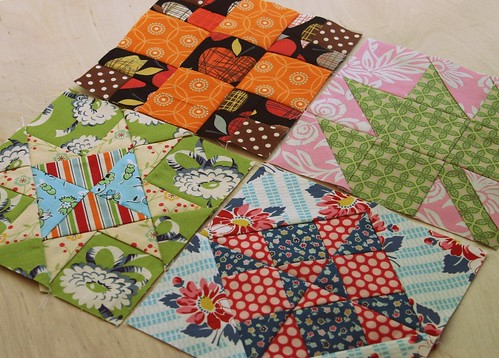 4 more Farmer's Wife Quilt blocks