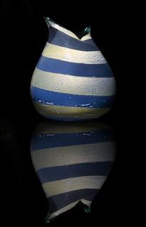 Giulio Radi, Reazioni Ploychrome vase, 1948, Lot 218