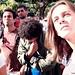Estudantes ouvem o anúncio do início da greve estudantil