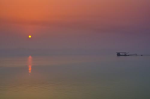 india nature sunrise river landscape nikon kolkata ganges westbengal d5100 mygearandme ringexcellence