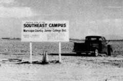 Future site of Mesa Community College 1966