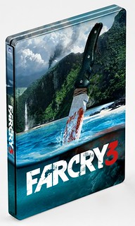 Vote For the Far Cry 3 EB Exclusive Edition Steelbook Cover Art