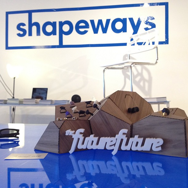Shapeways at Model Citizens NYC 2012