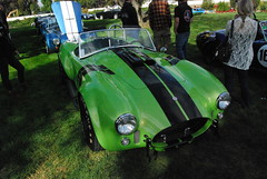 Shelby Cobra, Green pearl paint