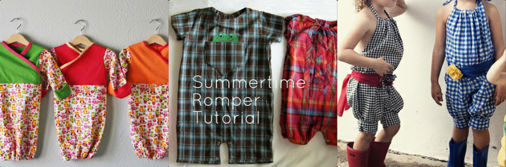 Max California: Free Patterns and Tutorials for Rompers and Onesies ...