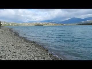 Video Periana vista desde el pantano de la Viñuela Malaga