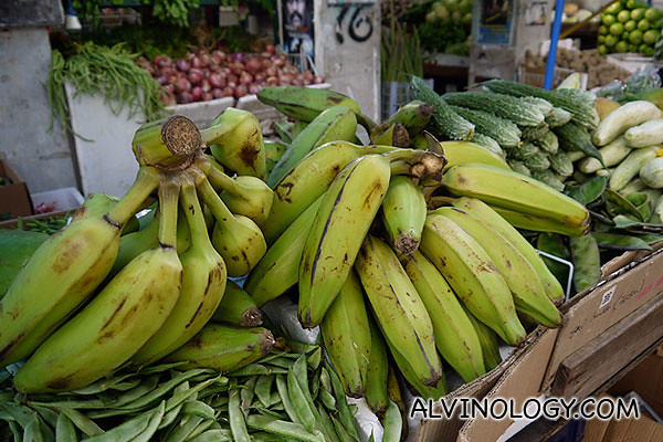 Giant bananas