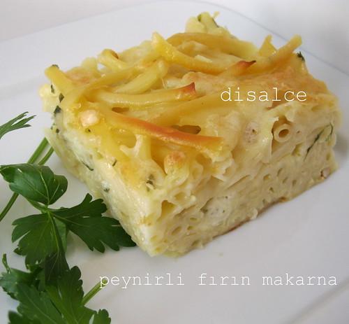 peynirli fırın makarna1