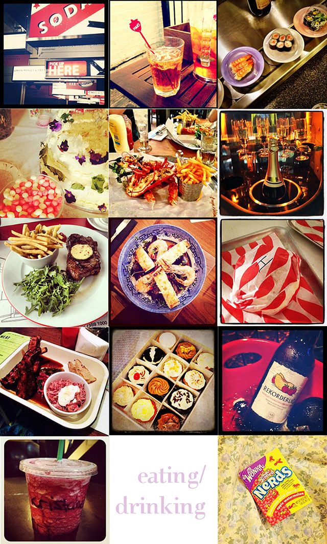 fashion blog instagram food eating drinking