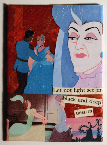 Lady Tremaine ATC by SlayKat Art's PaperclipHashbrown