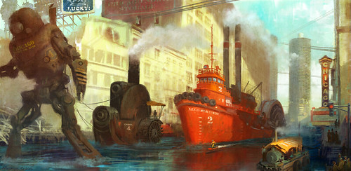 Armand Baltazar: Diego and the Steam Pirates