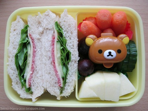 Pocket Sandwich and Rilakkuma :)