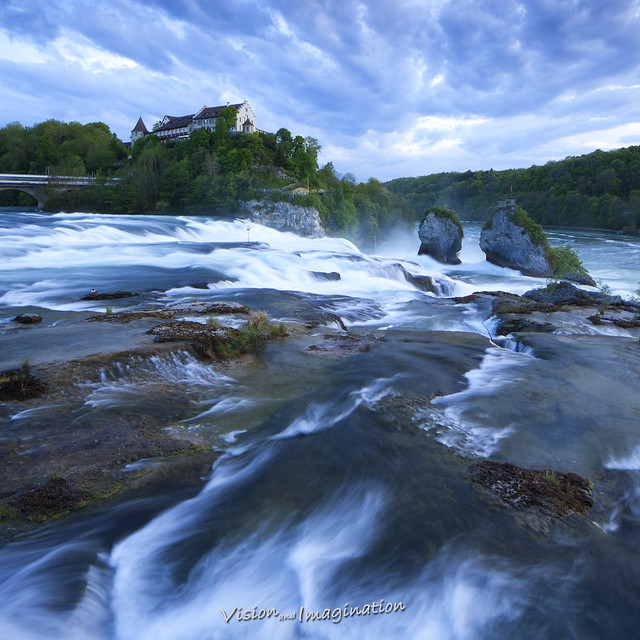 Rhine Falls - Europes largest Waterfall