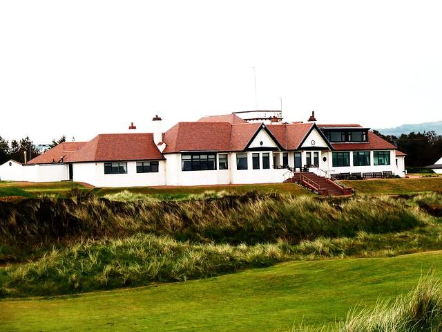 Club House at Western Gailes Golf Club