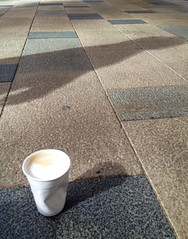 Coffe and morning shadows