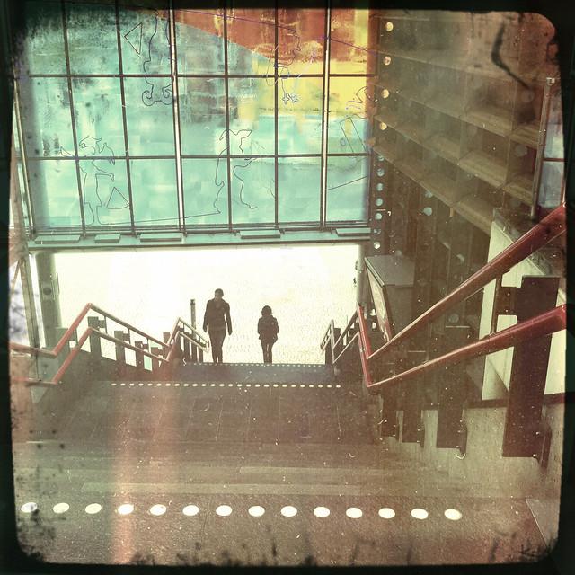 Upstairs-Downstairs....