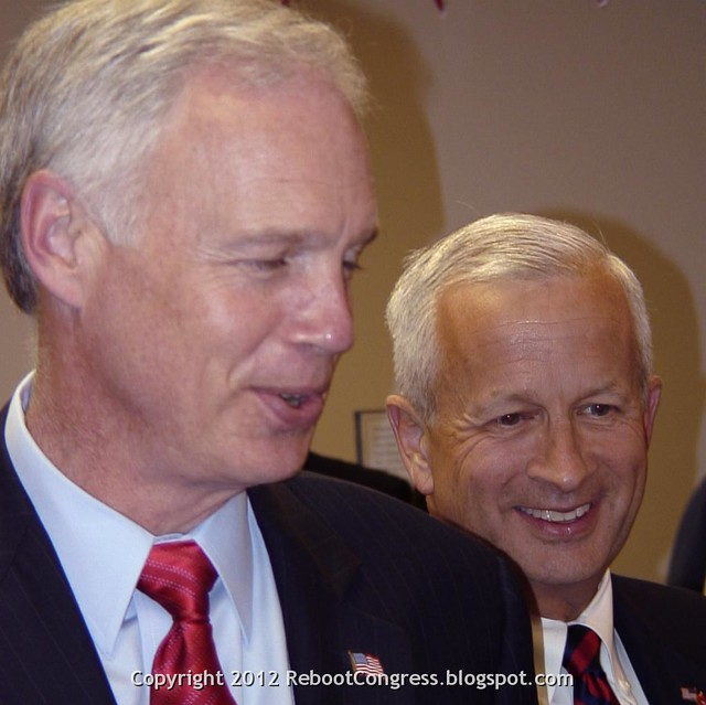 Ron Johnson (R-WI) and John Brunner