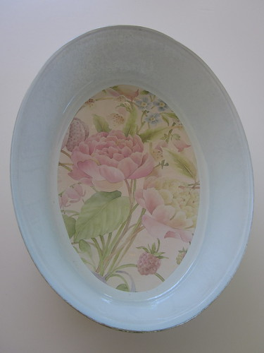 Inside Glass Dish