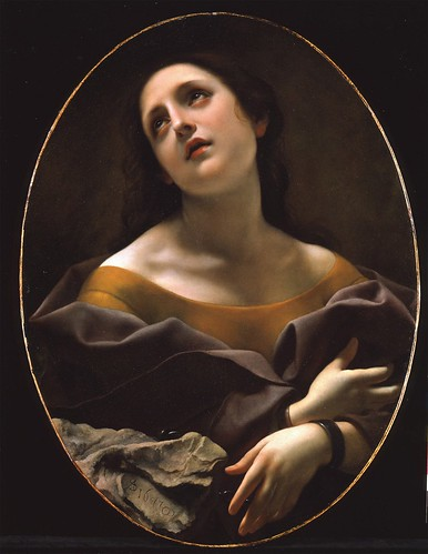 Carlo Dolci - Allegory of Patience [1677] by Gandalf's Gallery